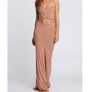 Acacia Santiago dress in Naked